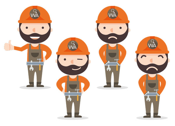 Création de personnages – WorkAdvisor.fr
