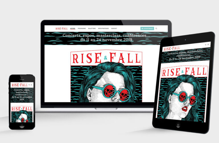 Site web Rise and fall édition 3