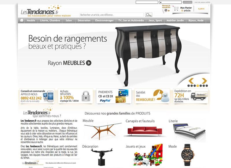 site web lestendances