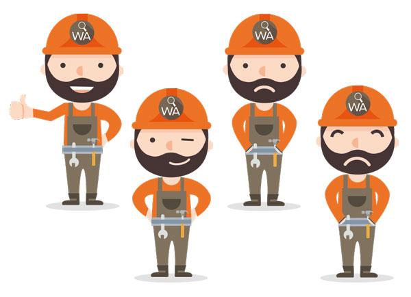 Personnage pour WorkAdvisor
